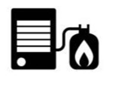 Kerosene heater symbol