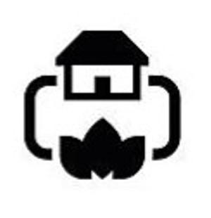 Natural gas heater symbol