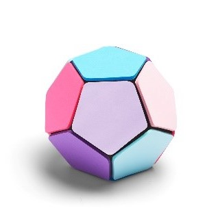 Sticky note memo ball