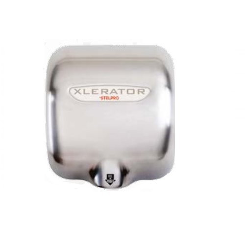 Touch free Stelpro Xcelerator hand dryer