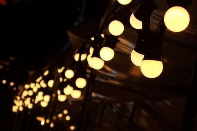 Round LED lanterns
