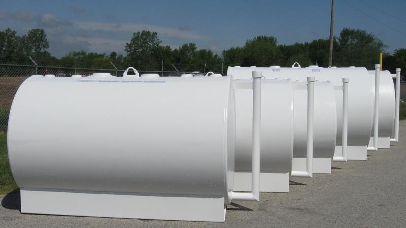 Storage Tanks on a Property