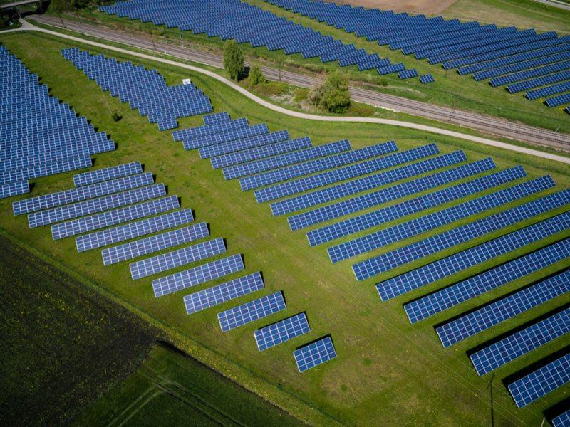 Renewable energy – solar panels