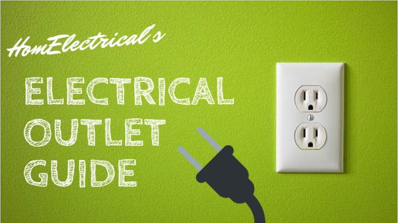 Double Electrical Outlet on Wall