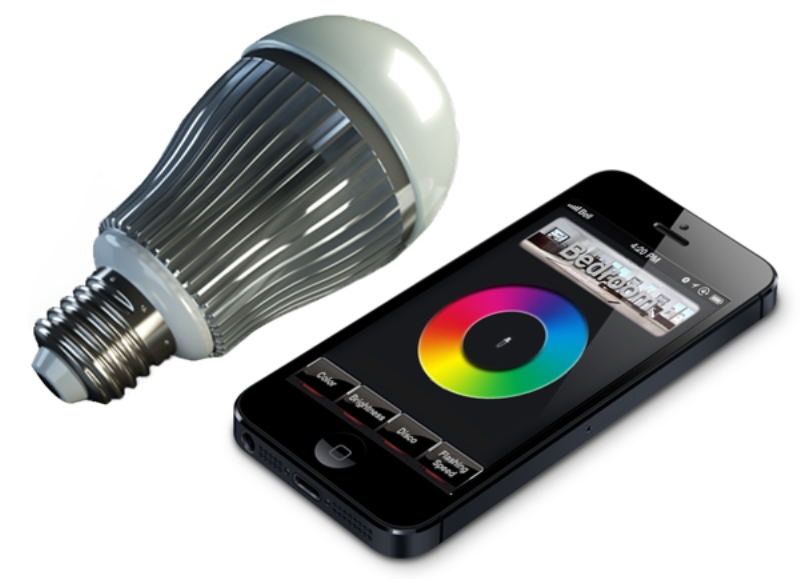 Smart Phone Controls LED Bulb