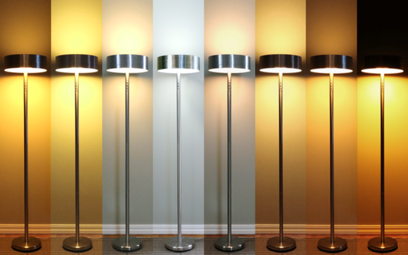 Range of Lamp Color Temperatures