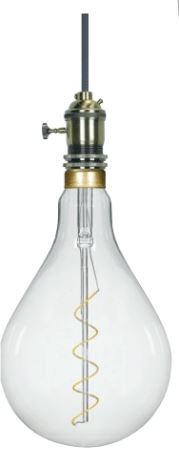 BT56 LED filament bulbs