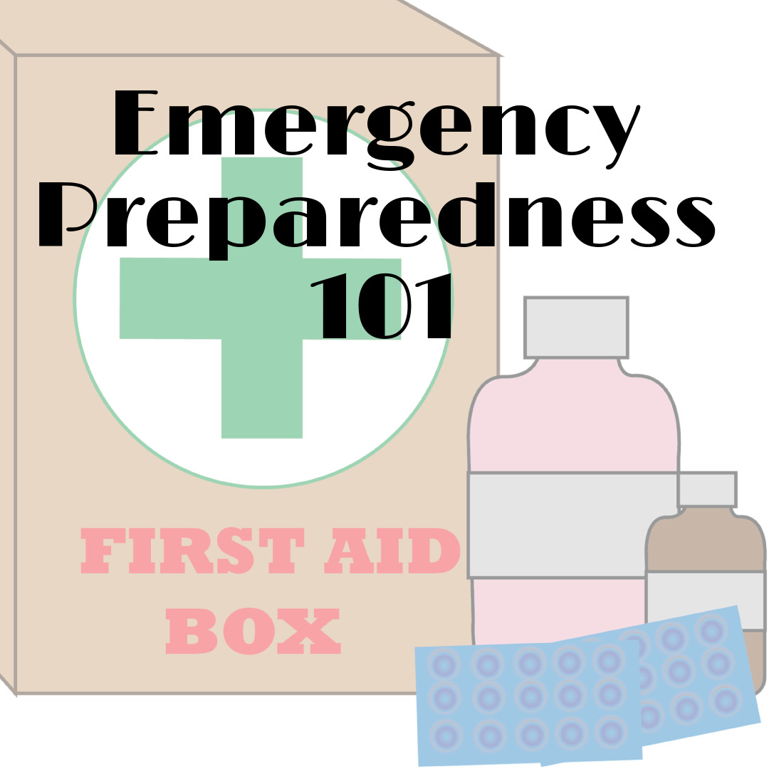 emergency preparedness 101 with first aid kit