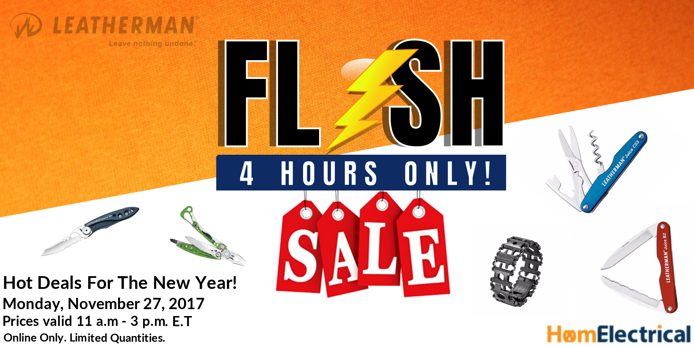 Cyber Monday Leatherman tools flash sale holiday catalog