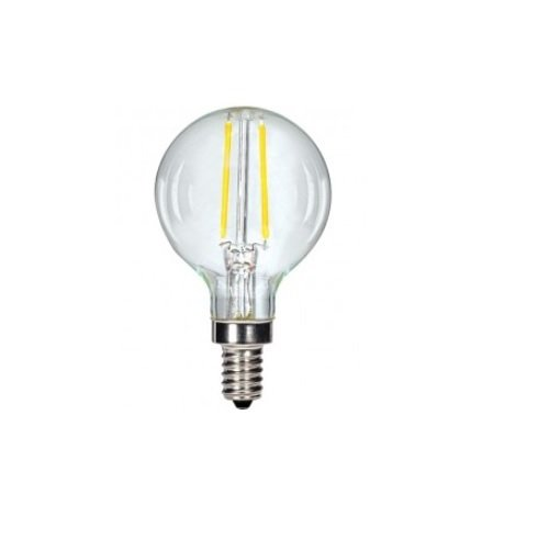 G16 globe Edison light bulb