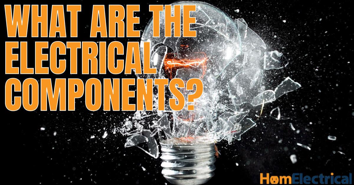 LED lightbulb electrical components