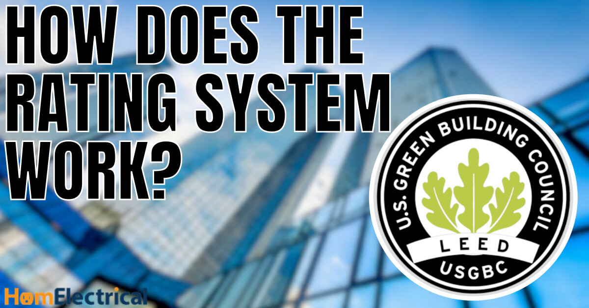 LEED certification rating system
