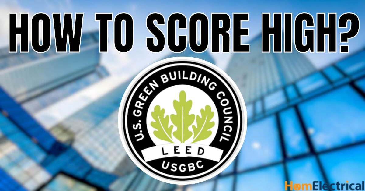 LEED certification scoring high