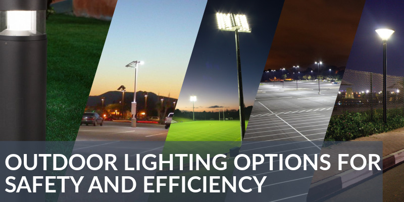 outdoor led lighting commercial examples