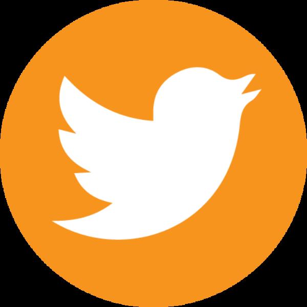 orange Twitter icon