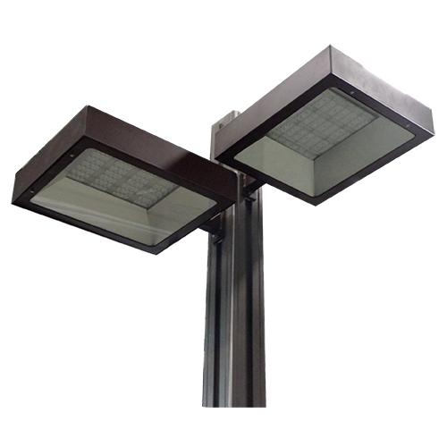 outdoor shoebox light fixture