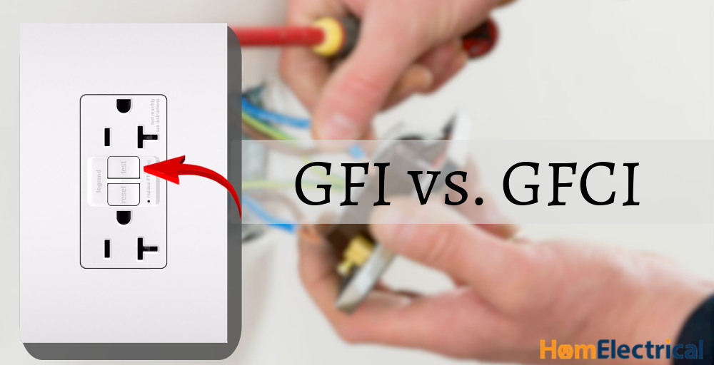 difference between gfi and gfci