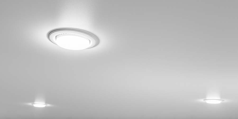 recessed lighting with downlights