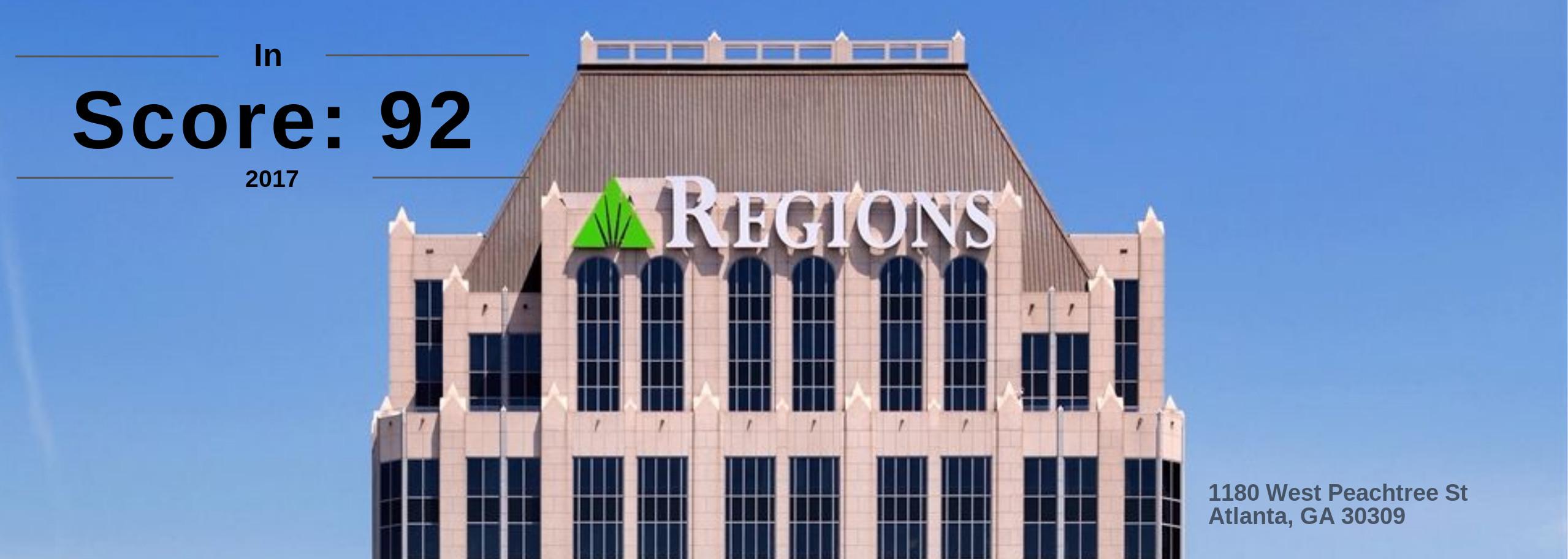 Regions Plaza Banner