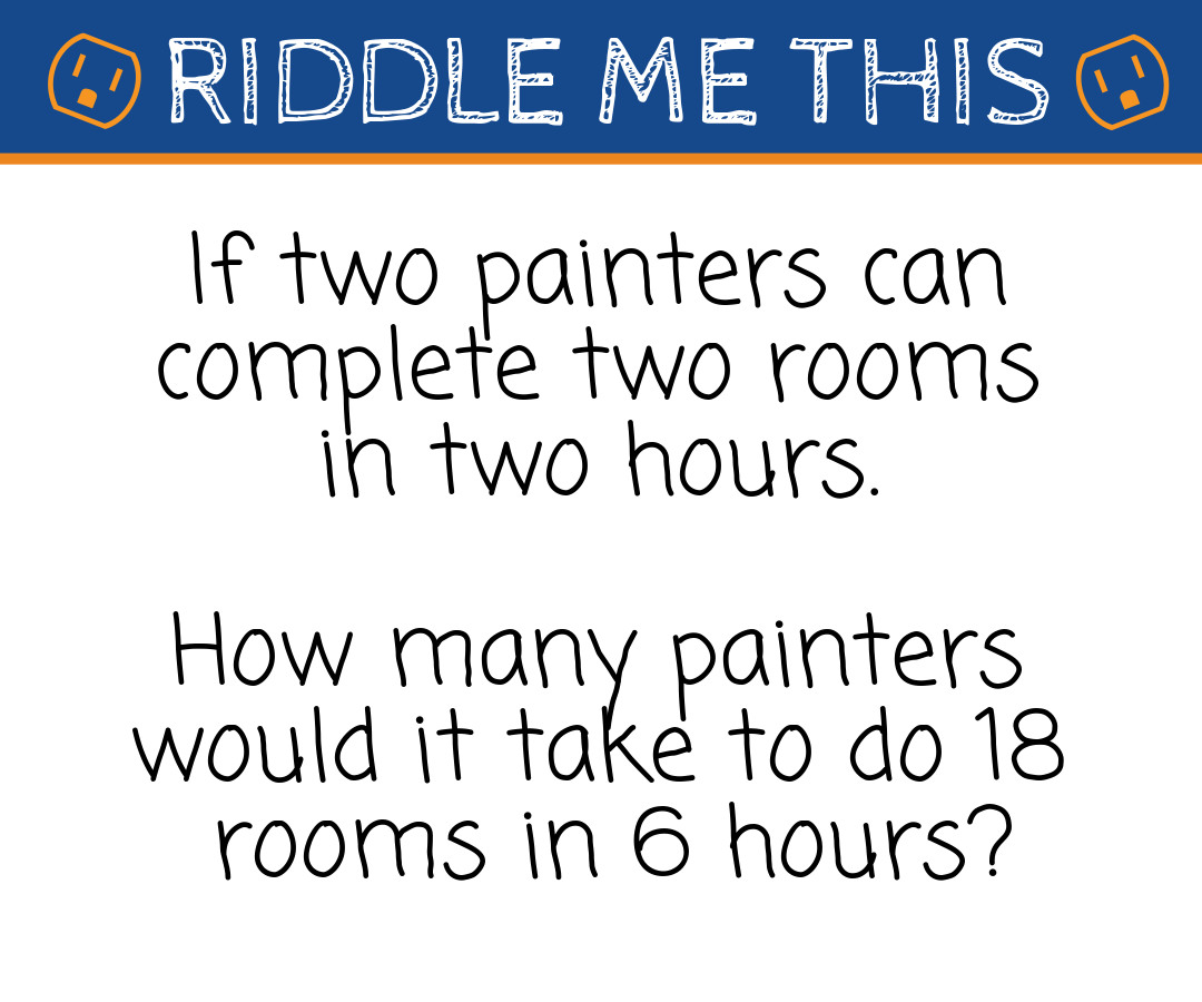 Riddle Me This Homelectrical S Riddles With Answers Homelectrical Com