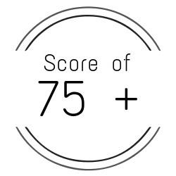 Score of 75 Icon