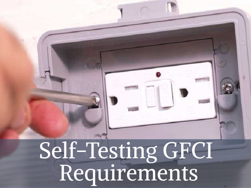 install self testing gfci outlet