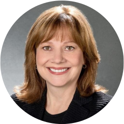 CEO of General Motors Mary T. Barra