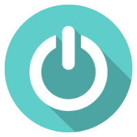 automatic lighting shutoffs icon