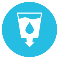 reduce water icon