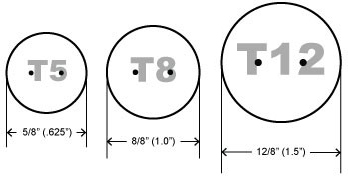 PICTURE OF EACH TUBE & ITS DIAMETER MEASUREMENT